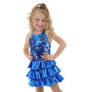 Alexandra Sequin Ruffle Dress : AC4022