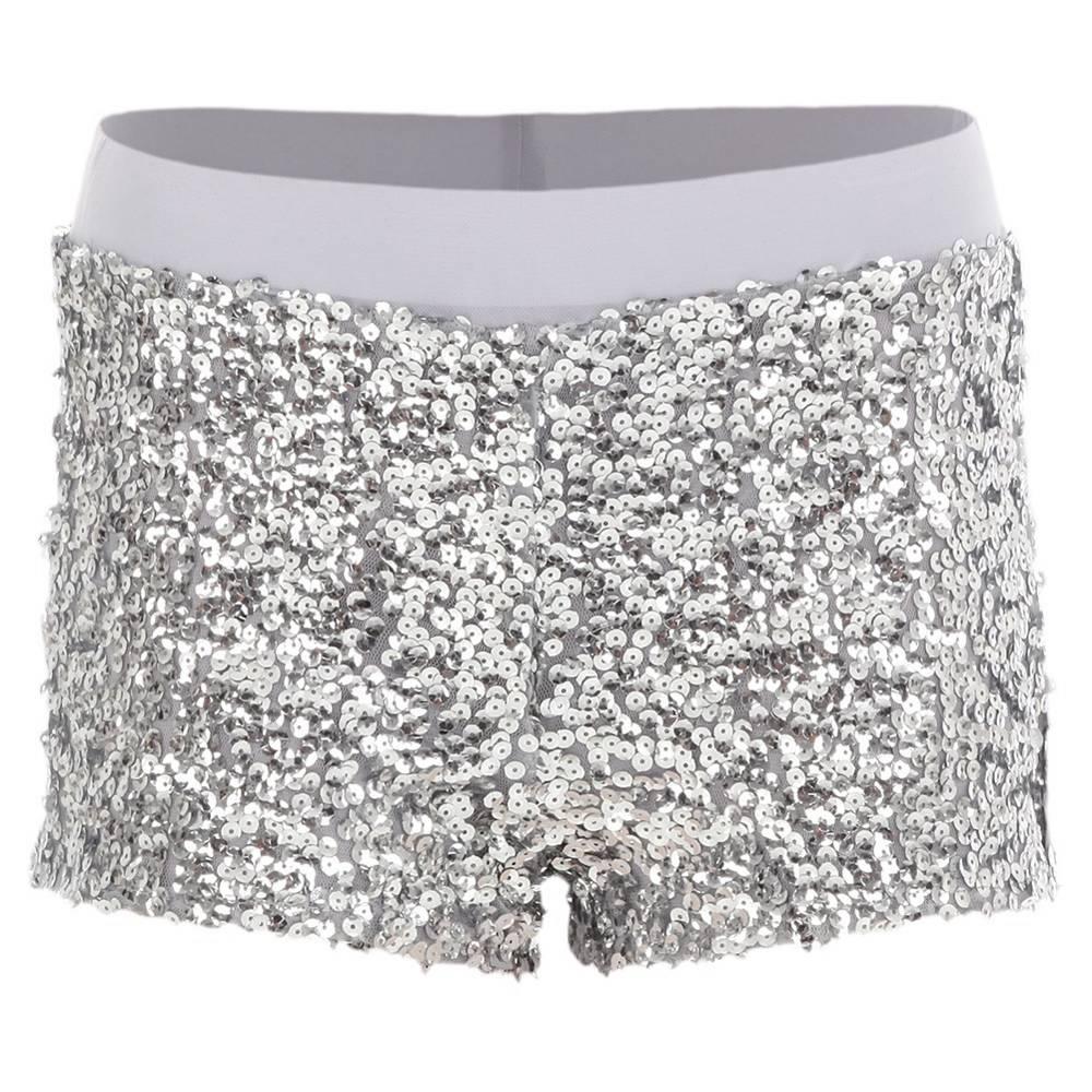 29a7fb8f47 Alexandra Sequin Shorts : AC4024