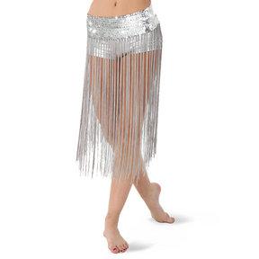 Alexandra Sequin Fringe Skirt