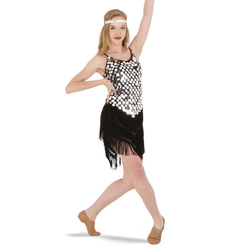 Alexandra Sequin Fringe Dress : AC4028