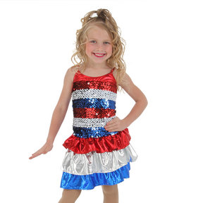 Alexandra Kids Sequin Liberty Dress