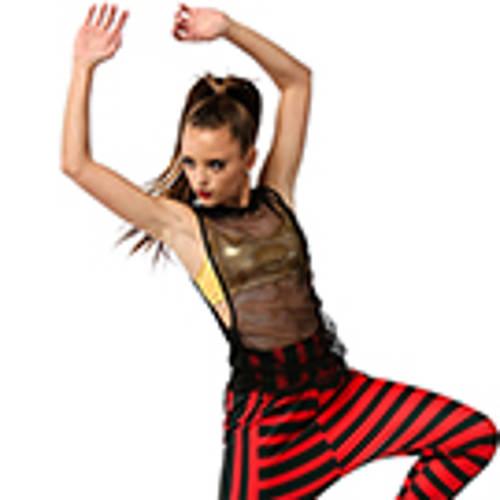 Alexandra Mesh Overlay Top : AC4057