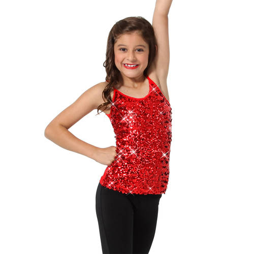 Youth Sequin Camisole Tank : AC4065C