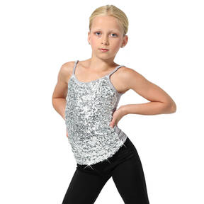 Alexandra Youth Sequin Camisole Tank