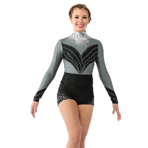 Dance Costumes | Extravagance Biketard - Just For Kix
