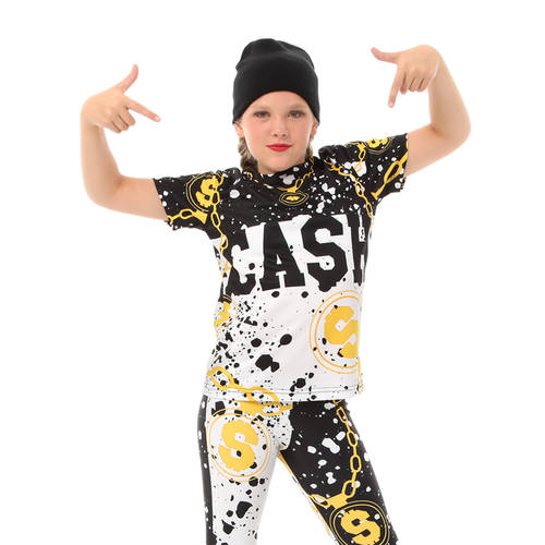 Girls Dancewear | Youth Cash Mo Money Crewneck - Just For Kix