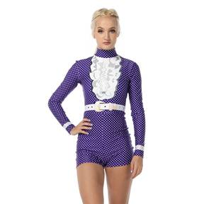 Alexandra Reign in Purple Biketard