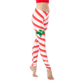 Youth Candy Cane Leggings