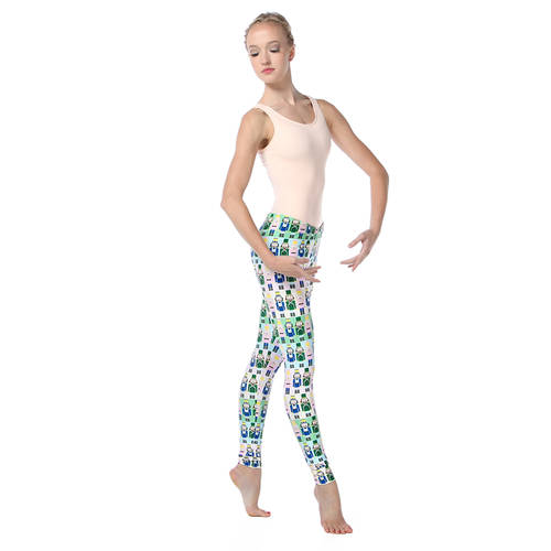 Youth Pastel Nutcracker Leggings : AC5066C