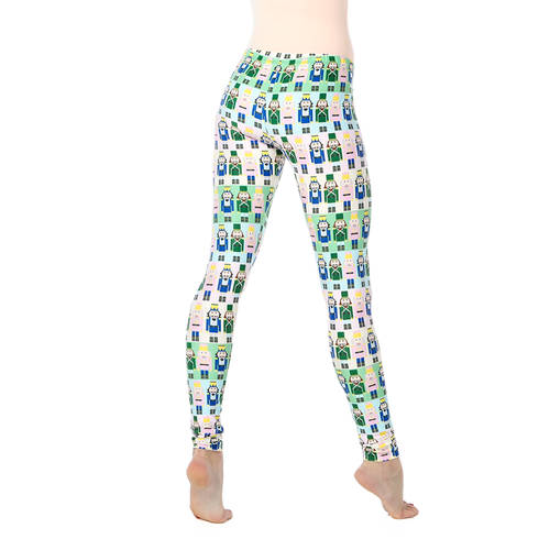Pastel Nutcracker Leggings : AC5066
