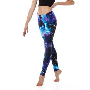 Youth Blue Galaxy Legging