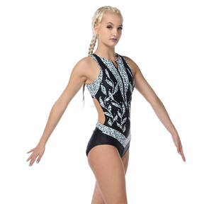 Empress Zipper Front Leotard