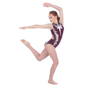Youth Harmony Zipper Front Leotard