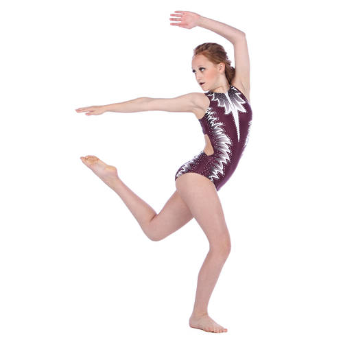 Youth Harmony Zipper Front Leotard : AC5075C