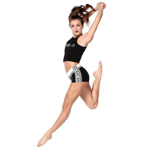 Youth Black Dance Shorts : AC5078C