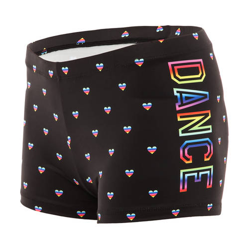 Youth Rainbow Heart Dance Short : AC5080C