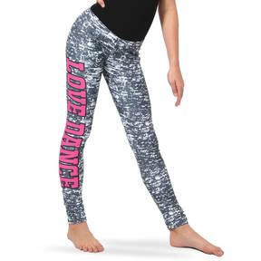 Alexandra Youth Love Dance Grey Leggings