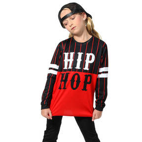 Youth Hip Hop Long Sleeve