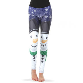 Youth Snowman Leggings