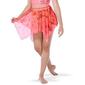 Incomplete Blossom Mesh Skirt
