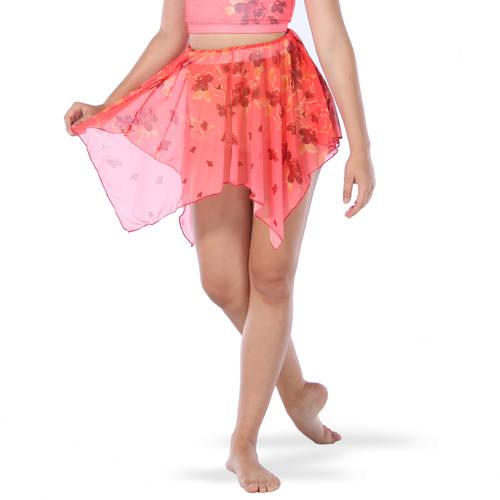Incomplete Blossom Mesh Skirt : AC5236