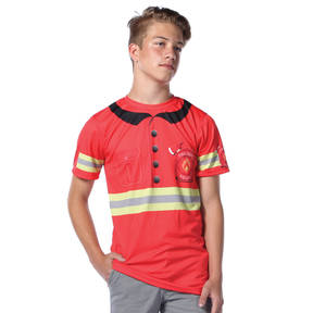 Firefighter Crew Neck Tee