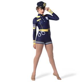 Police Biketard
