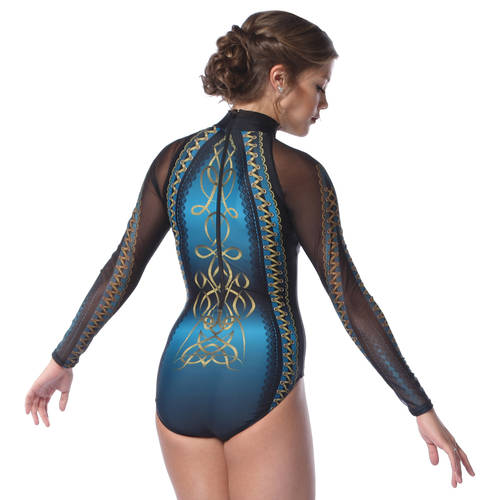 Scottish Long Sleeve Leotard : AC5296