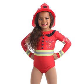 Firefighter Long Sleeve Leotard