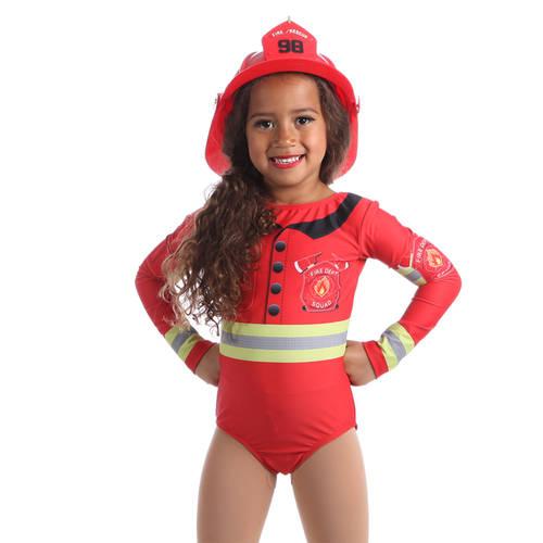 Firefighter Long Sleeve Leotard : AC5308