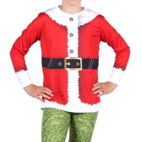 Youth Santa Long Sleeve Top