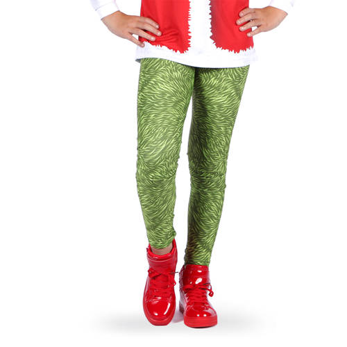 Grumpy Grouch Christmas Leggings : AC5315