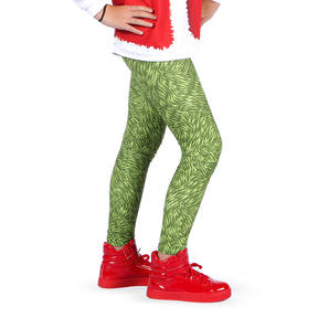 Youth Grumpy Grouch Christmas Leggings