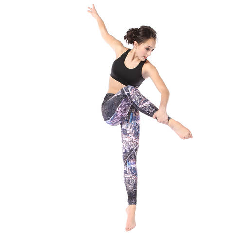 Youth City Scene Mid Rise Leggings : AC5325C