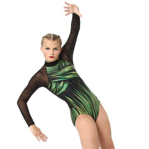 Youth Into the Amazon Long Sleeve Leotard : AC5336C