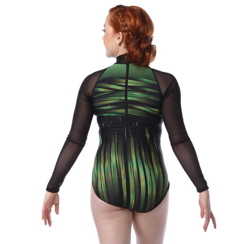 Into the Amazon Long Sleeve Leotard : AC5336