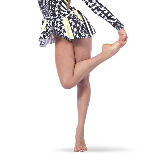 Houndstooth Peplum Skirt : AC5390