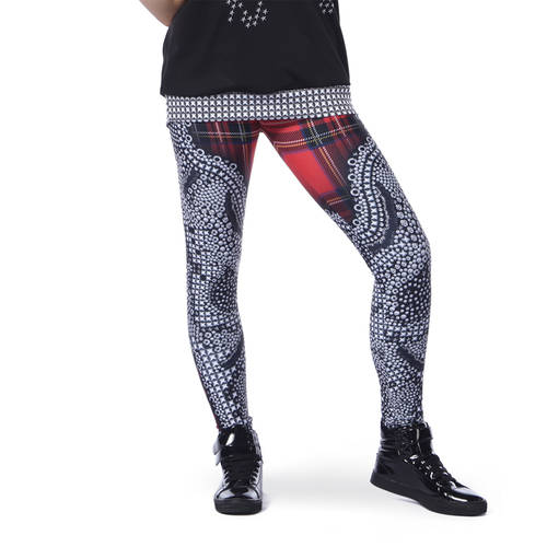 Punk Rock Princess Legging : AC5401