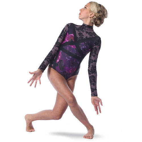 Reflections Raglan Leotard : AC5403