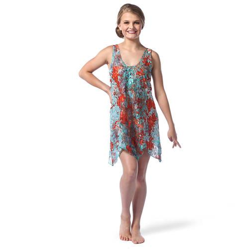 Boho Rust Dress : AC5413