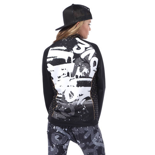 Graffiti Queen Bomber Jacket : AC5425