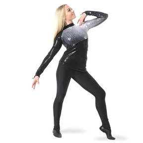 Ombre Sequin Performance Tunic