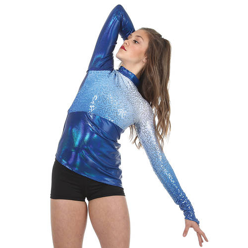 Ombre Sequin Performance Tunic : AC5445