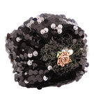 Sequin Hair Cover Hat : AC58