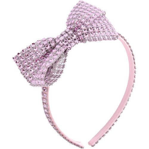 Rhinestone Bow Headband : AC63