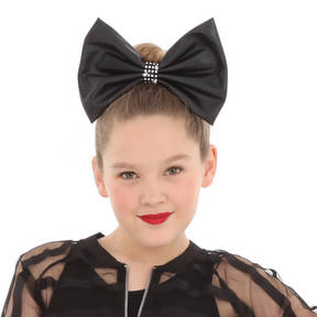 Large Leatherette Bow