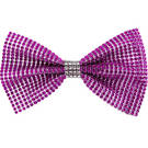 Large Rhinestone Bow with Contrast Trim : AC69