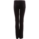 GIRLS BLACK VELVET JAZZ FITTED PANT : B547C