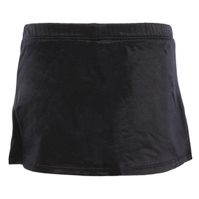 Black A-Line Skirt with Shorts