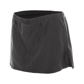 Microfiber A-line Skirt W/Shorts